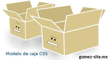 Modelo de caja CSS blog gomez-ste